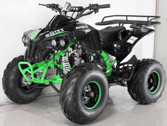 MOTAX ATV Raptor -7 125 сс подростковый квадроцикл бензиновый