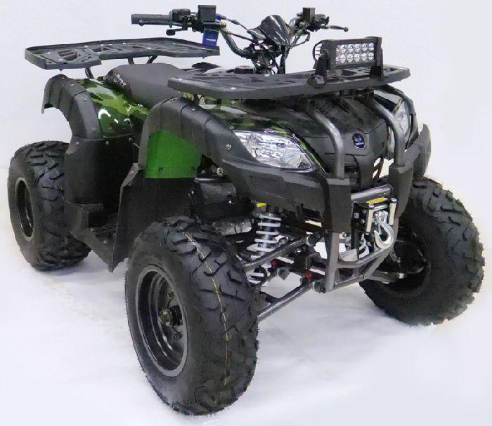 MOTAX ATV Grizlik 200 LUX с ЛЕБЕДКОЙ подростковый квадроцикл бензиновый