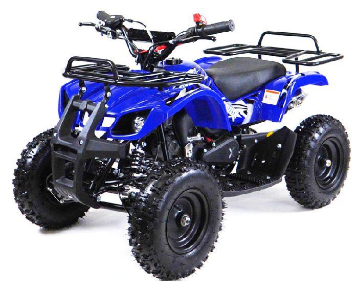 MOTAX ATV Х-16 BIGWHEEL (БОЛЬШИЕ КОЛЕСА) квадроцикл детский бензиновый с механическим стартером