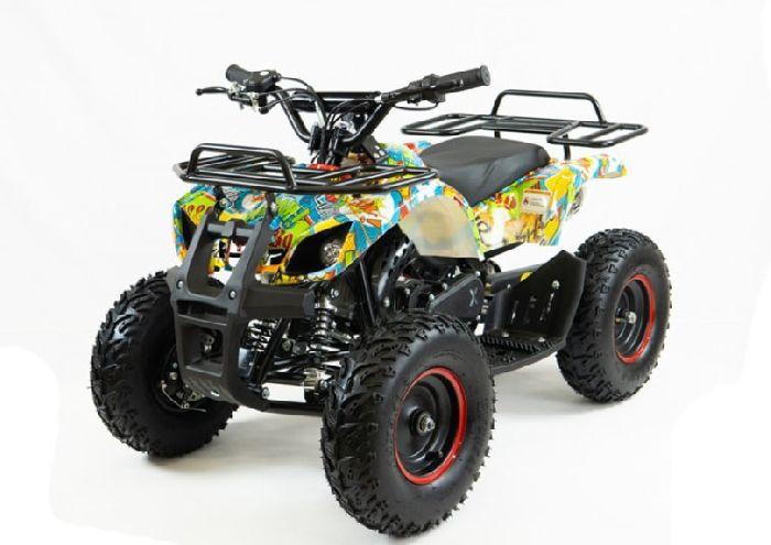 MOTAX ATV Х-16 BIGWHEEL (БОЛЬШИЕ КОЛЕСА) квадроцикл детский бензиновый с электростартером и родительским пультом
