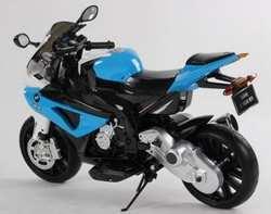 Детский мотоцикл на резиновых колесах JT 528 BMW
