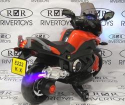Мотоцикл для детей MOTO E 222 KX с генератором пара