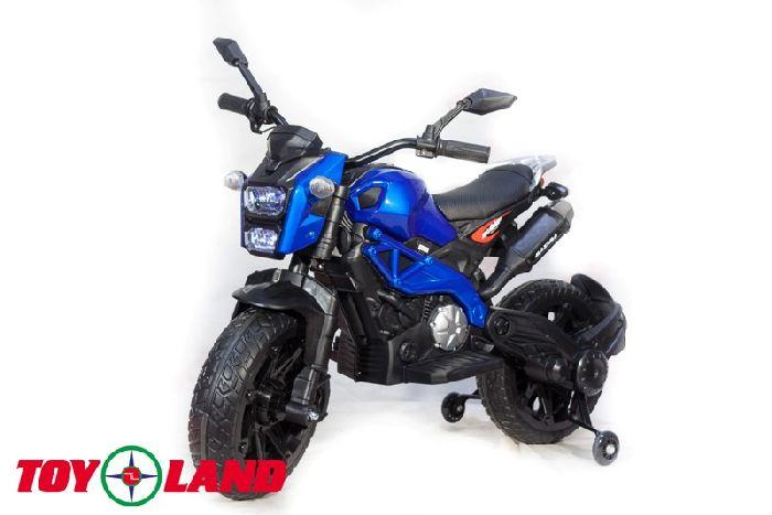 Детский мотоцикл Moto sport (DLS01) на резиновых колесах