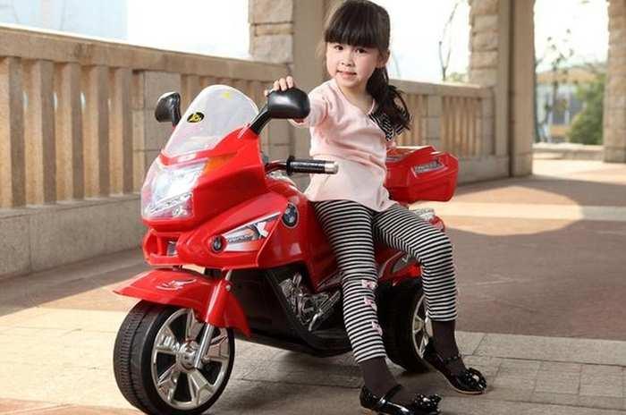 Радиоуправляемый детский мотоцикл Kid Car Хонда Viper 328A R/C