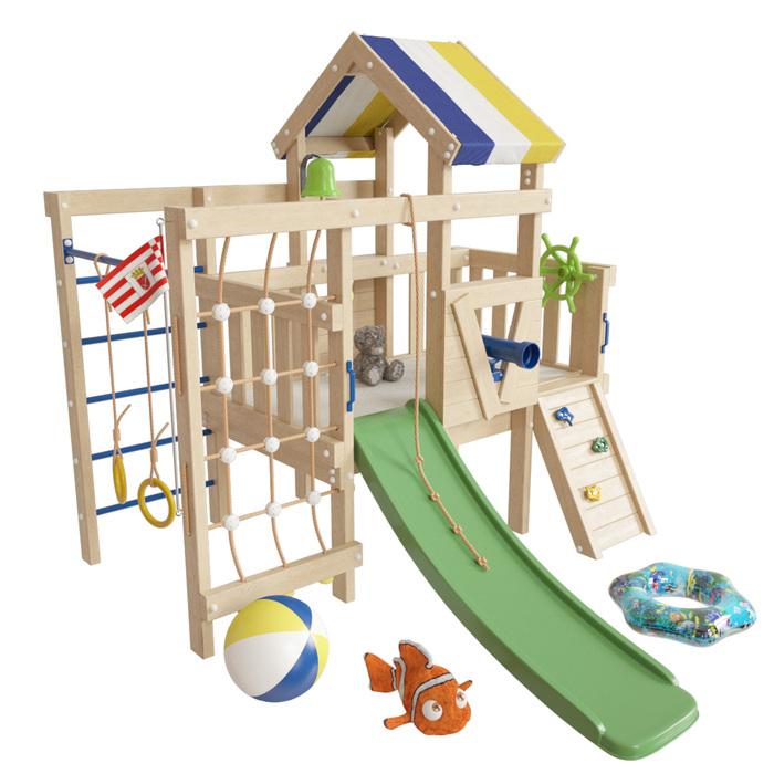 Детский игровой чердак Немо для дома и улицы