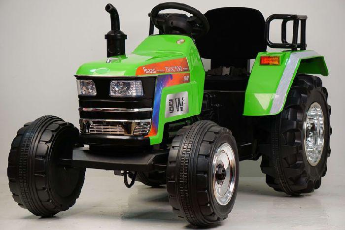 Детский электромобиль-трактор O030OO с дистанционным управлением.