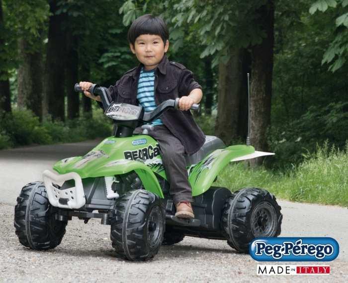 Детский электроквадроцикл Peg Perego CORRAL BEARCAT