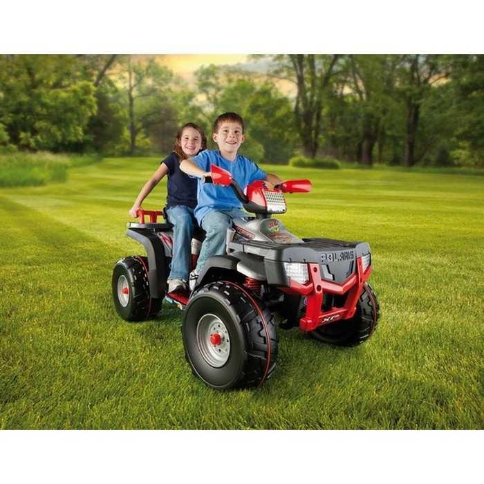Электрический детский квадроцикл Peg Perego Polaris SPORTSMAN -850 IGOD05180