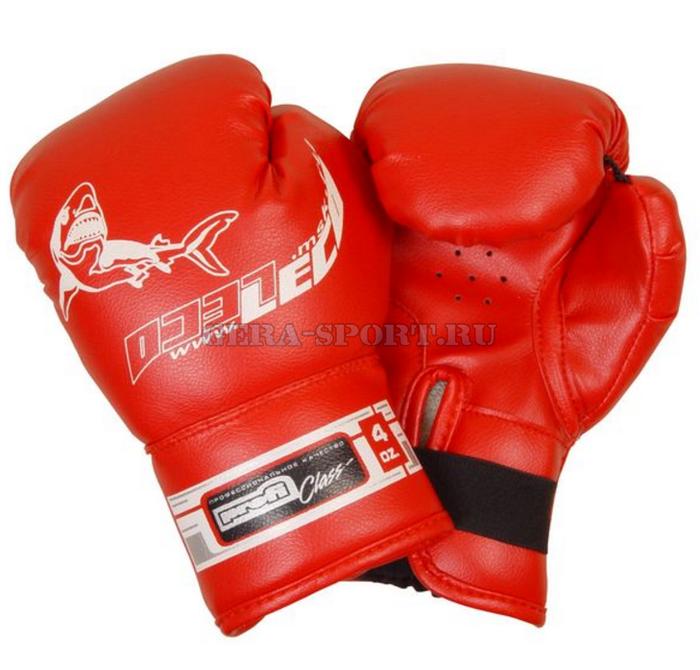 Перчатки боксерские детские на 3-6 лет