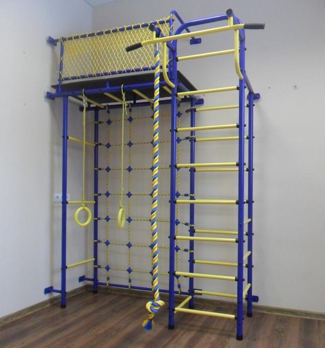 ДСК Пионер 10С детский спортивный комплекс с сеткой для лазания