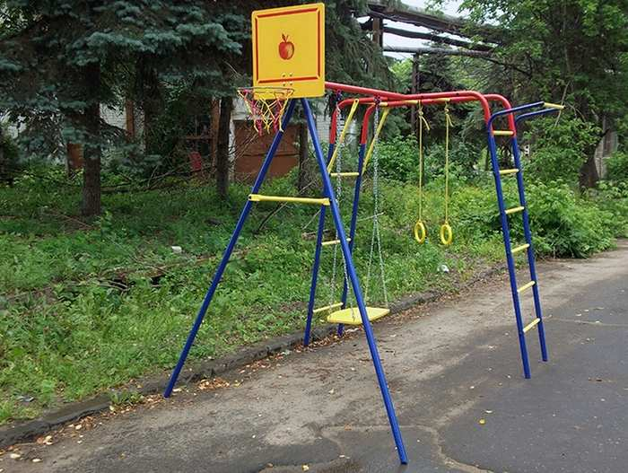 ДСК Пионер дачный Юла ЦК детский спортивный комплекс  с качелями