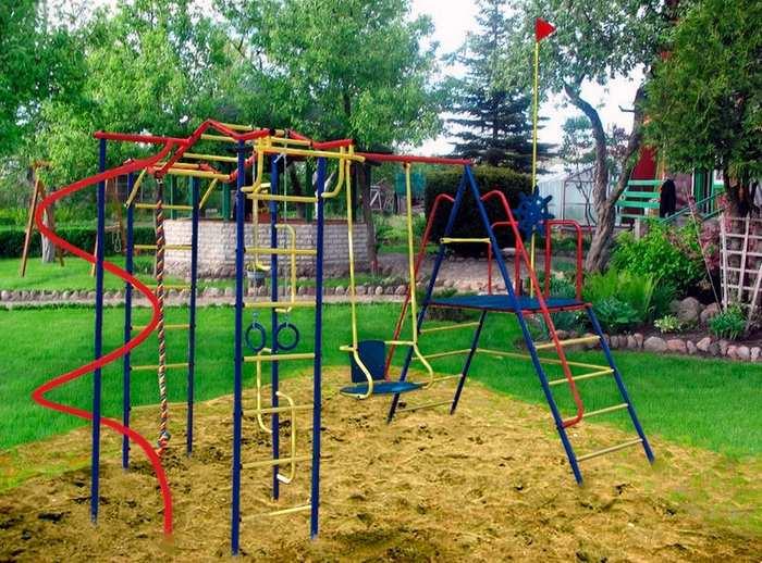 ДСК Пионер дачный Юнга со спиралью детский спортивный комплекс