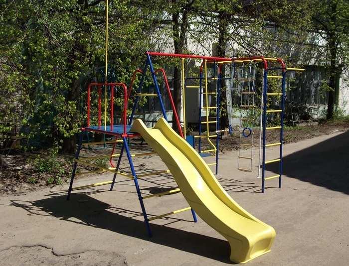 ДСК Пионер дачный Морячок с горкой детский спортивный комплекс для дачи