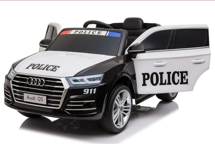 Детский полицейский электромобиль AUDI Q5 с дистанционным управлением