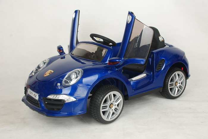 PORSHE E 911KX детский электромобиль на резиновом ходу
