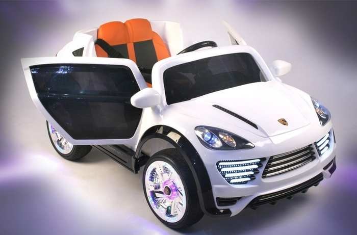 Детский электромобиль Porshe Cayenne Turbo о 001 оо VIP