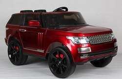 Детский электромобиль Range Rover Vogue с резиновыми колесами