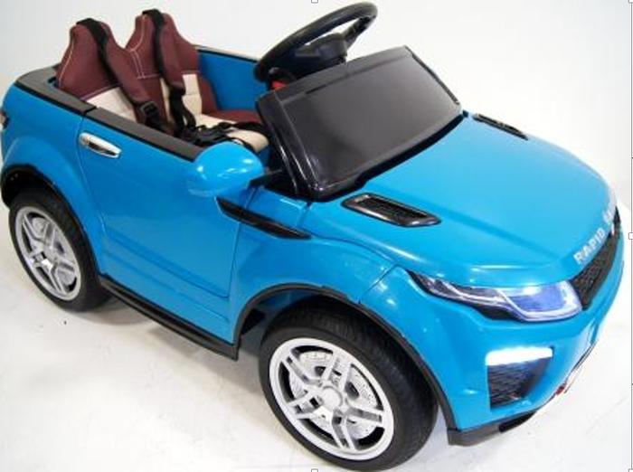 Детский электромобиль Range O 007 OO на резиновых (каучуковых) колесах