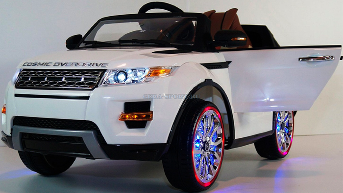 Range Rover A 111 AA Evoque детский электромобиль на резиновых колесах