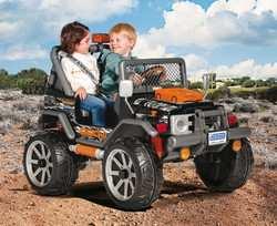 Peg Perego GAUCHO ROCKIN NEW большой двухместный детский электромобиль джип
