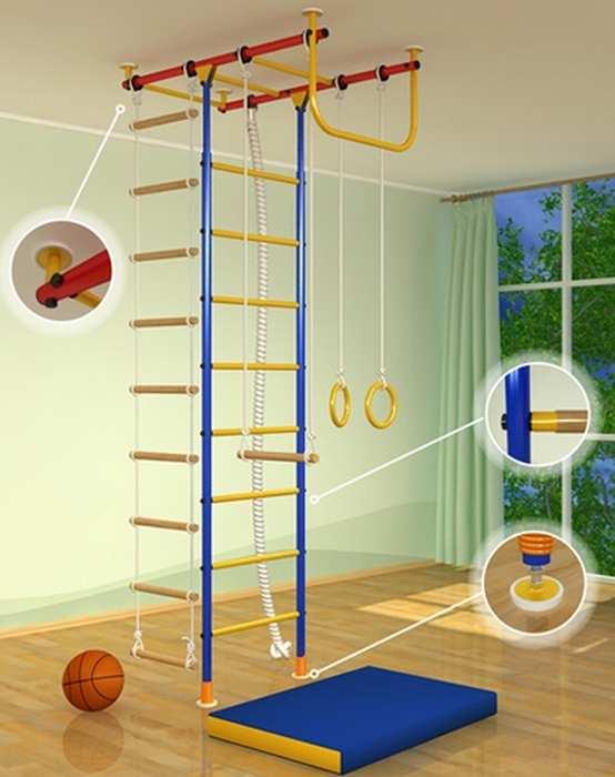 ДСК Самсон-1 детский спортивный комплекс для квартиры