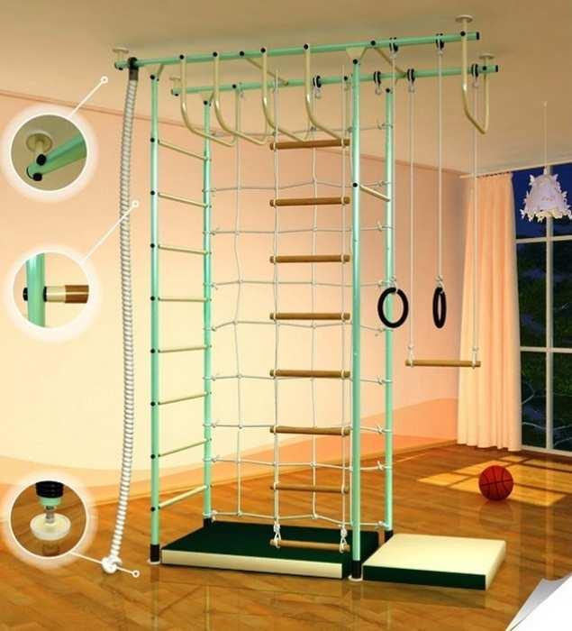 ДСК Самсон-43 спортивный комплекс для детей с сеткой