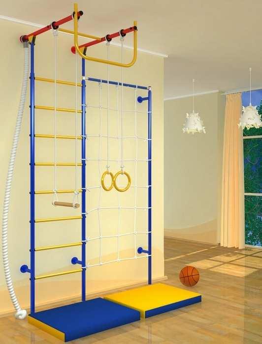 ДСК Самсон-52 детский спортивный комплекс с сеткой