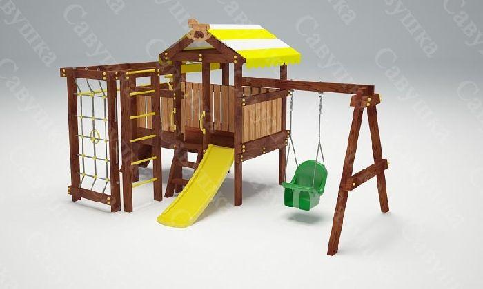 Детская спортивно-игровая площадка Савушка Baby 11 (Play)