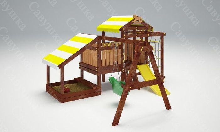 Детская спортивно-игровая площадка Савушка Baby 12 (Play)