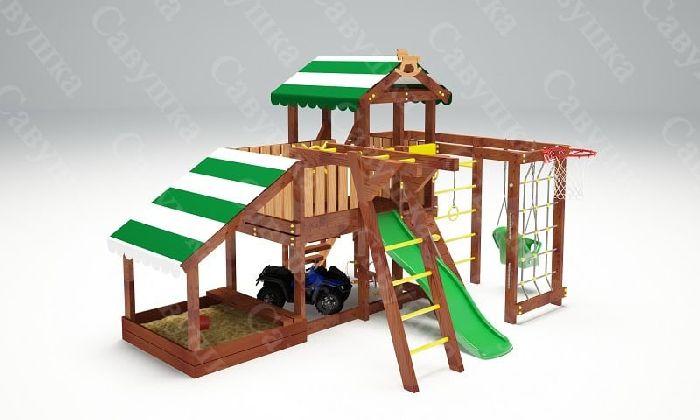 Детская спортивно-игровая площадка Савушка Baby 13 (Play)