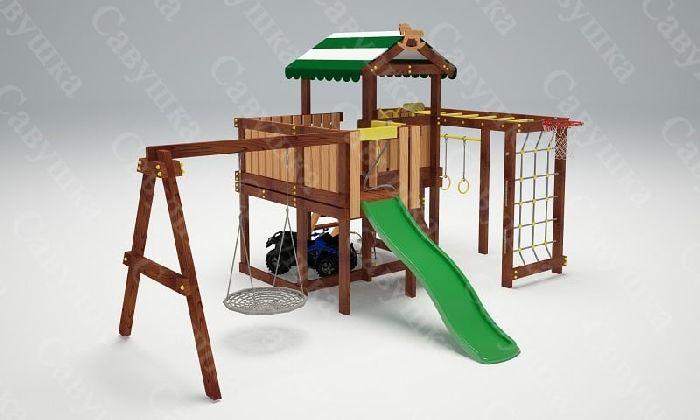 Детская спортивно-игровая площадка Савушка Baby 15 (Play)