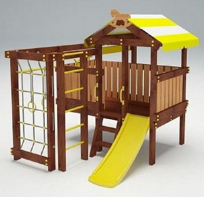 Детская спортивно-игровая площадка Савушка Baby 1 (Play)