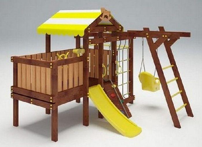 Детская спортивно-игровая площадка Савушка Baby 2 (Play)