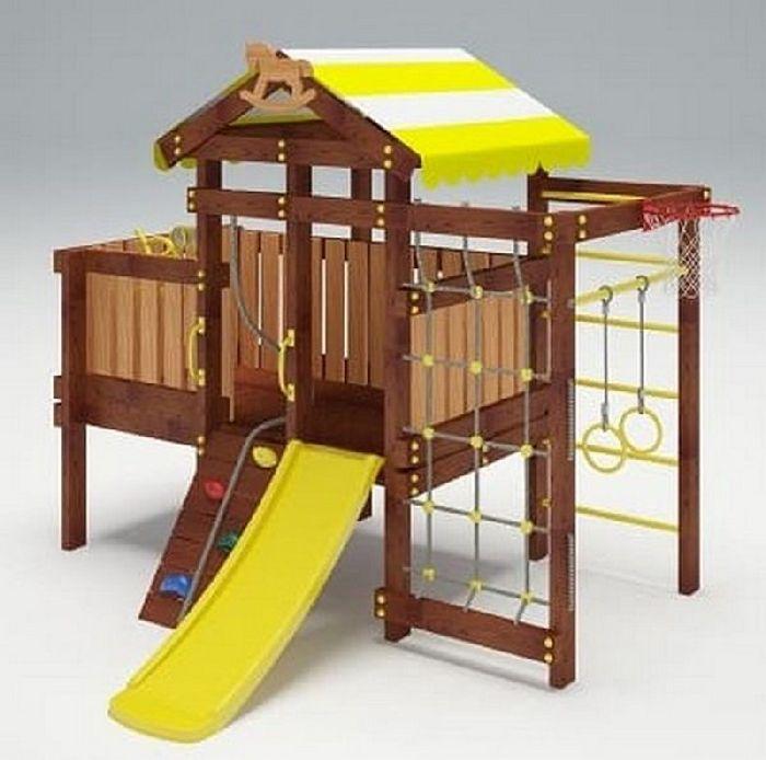 Детская спортивно-игровая площадка Савушка Baby 3 (Play)