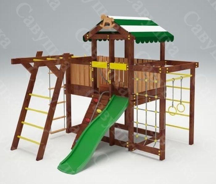 Детская спортивно-игровая площадка Савушка Baby 4 (Play)