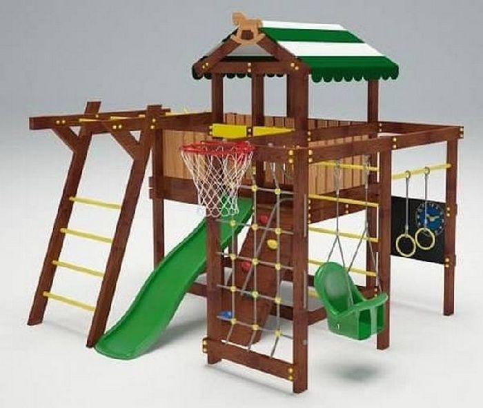 Детская спортивно-игровая площадка Савушка Baby 5 (Play)