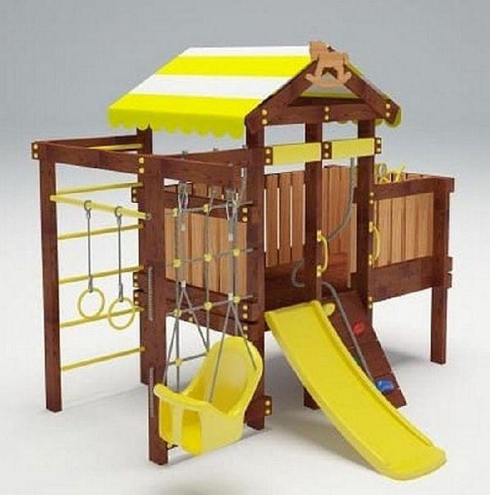 Детская спортивно-игровая площадка Савушка Baby 6 (Play)