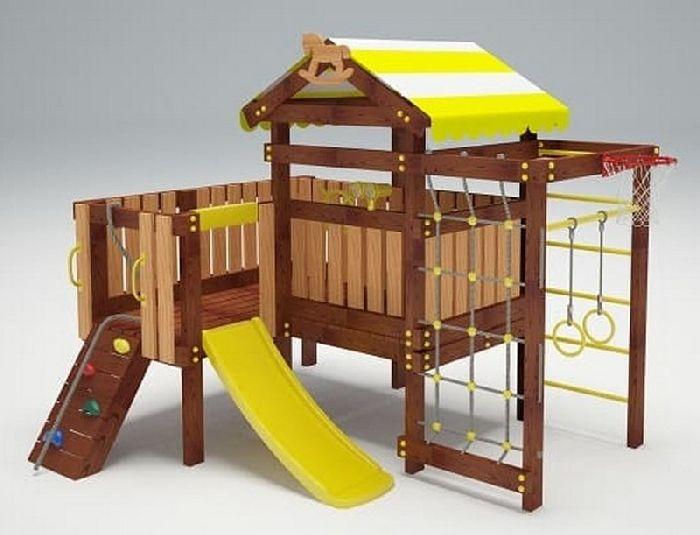 Детская спортивно-игровая площадка Савушка Baby 7 (Play)