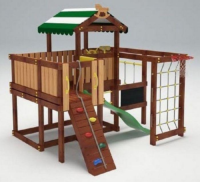 Детская спортивно-игровая площадка Савушка Baby 8 (Play)
