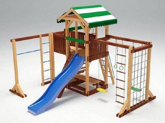 Детская спортивно-игровая площадка Савушка 15