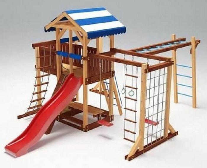 Детская спортивно-игровая площадка Савушка 16