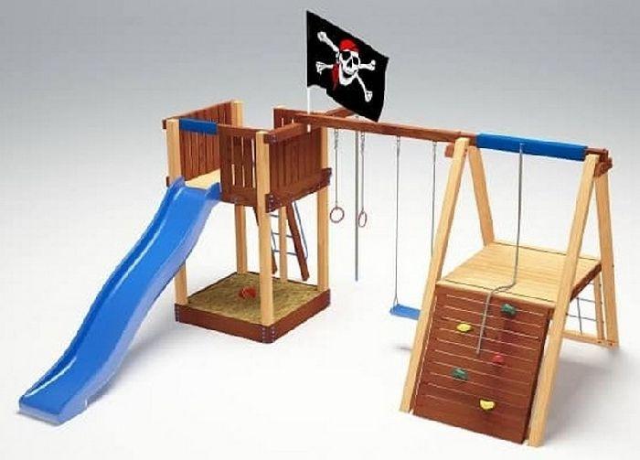 Детская спортивно-игровая площадка Савушка 3