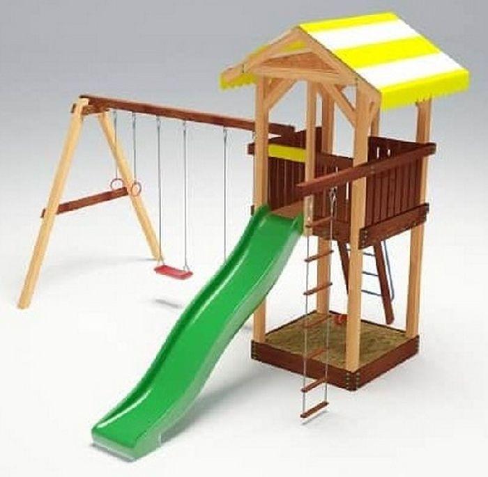 Детская спортивно-игровая площадка Савушка 4