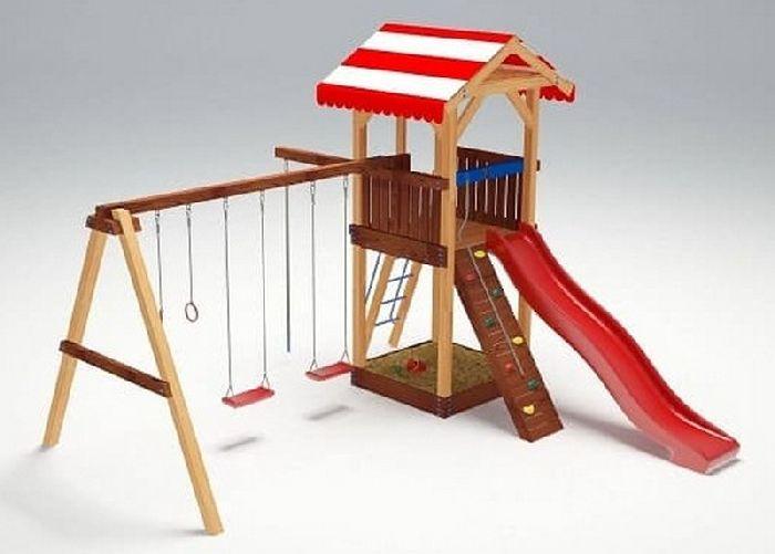 Детская спортивно-игровая площадка Савушка 5