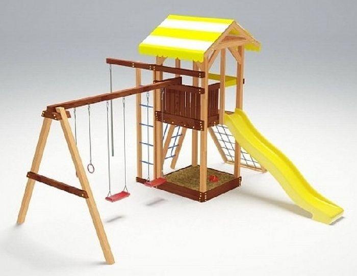 Детская спортивно-игровая площадка Савушка 7