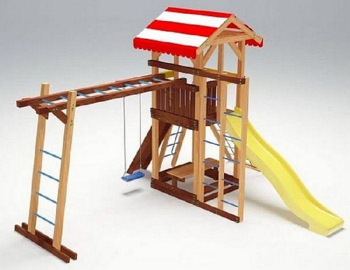 Детская спортивно-игровая площадка Савушка 10