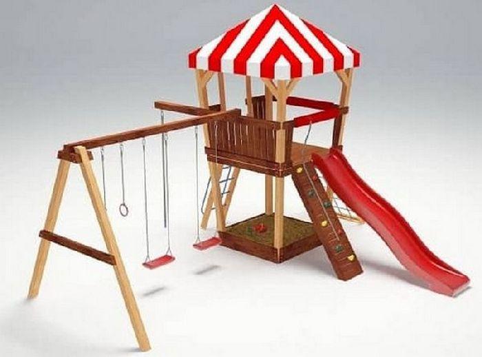 Детская спортивно-игровая площадка Савушка 12
