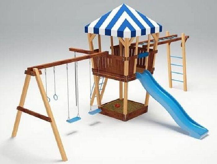Детская спортивно-игровая площадка Савушка 13