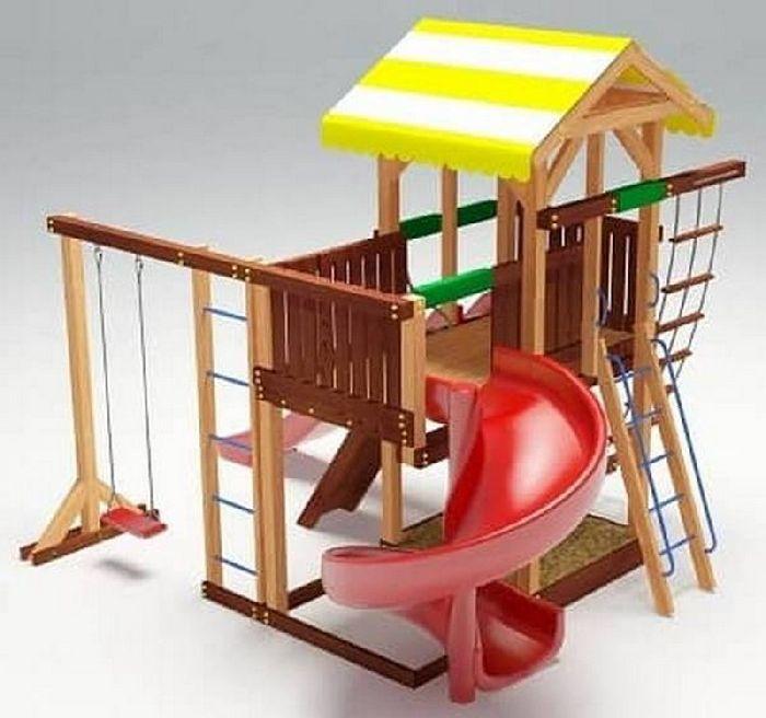 Детская спортивно-игровая площадка Савушка 18