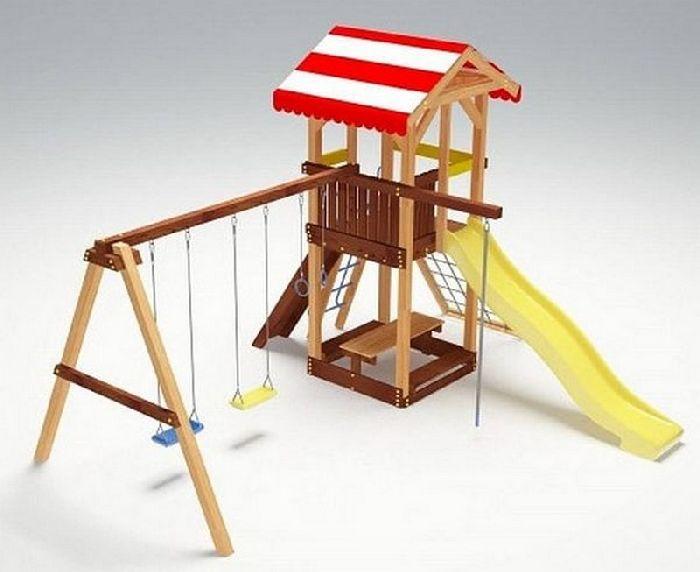 Детская спортивно-игровая площадка Савушка 9